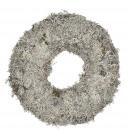 Wreath Gray Moss, diameter 30cm, natural